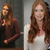 Marina Ruy Barbosa corta cabelo para 'Falso Brilhante' e tenta esconder mudança