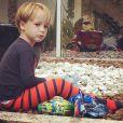 Guy, filho de Danielle Winits e Jonatas Faro, está fazendo 3 anos nesta segunda-feira (28)