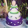 Guy, filho mais novo da atriz Danielle Winits comemorou seu aniversário no último sábado, com uma festa temática do filme 'Toy Story'