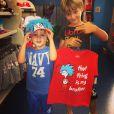 Guy, filho de Danielle Winits é irmão de Noah, de 6 anos