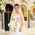 Mariana Rios usa vestido de noiva assinado por Lethicia Bronstein em 'Salve Jorge'