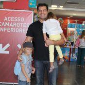 Thiago Lacerda leva filhos ao 'Disney on Ice', no Rio. Veja quem foi