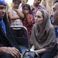 Angelina Jolie faz visita ao Iraque