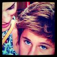 Davi Frota, filho da atriz Carolina Dieckmann chama atenção pela semelhança com o pai, o ator Marcos Frota