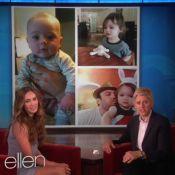 Megan Fox apresenta filho caçula, de dois meses, no programa de Ellen Degeneres