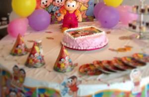 Angélica comemora aniversário de quatro meses de Eva com festa íntima