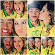 Neymar estrela campanha para Copa do Mundo com Claudia Leitte