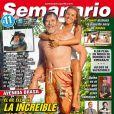 José de Abreu estampou a capa da revista 'Semanario' ao lado da mulher
