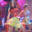 Luciana Paes cantou a música 'Ex mai Love' na final do quadro 'Artista Completão'