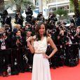 Zoe Saldana veste Victoria Beckham no Festival de Cannes 2014