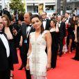 Priscilla Betti prestigia a cerimônia de abertura do Festival de Cannes 2014