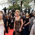 Natacha Amal prestigia a cerimônia de abertura do Festival de Cannes 2014