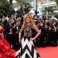 Raffaella Zardo prestigia a cerimônia de abertura do Festival de Cannes 2014