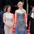 Nicole Kidman veste Armani Privé e Paz Vega veste Elie Saab no Festival de Cannes 2014