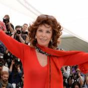 Sophia Loren apresenta o Cannes Classics 2014 durante o festival