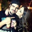 Caio Castro presenteou a amiga Giovanna Lancellotti com um carro. a surpresa aconteceu durante a festa de aniversário da atriz, na quarta-feira, 22 de maio de 2014, no Joá, na Zona Oeste do Rio de Janeiro