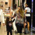 Tânia Mara foi com a filha, Maysa, de 3 anos, no shopping Village mall, na Barra da Tijuca, Zona Oeste do Rio de Janeiro, nesta quarta-feira, 28 de maio de 2014
