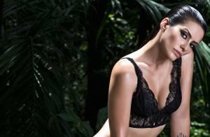 Cleo Pires posa de lingerie para capa de revista: 'Diabolicamente sensual'
