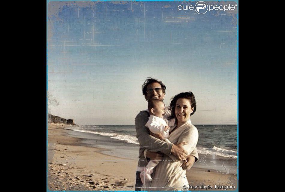 Guilhermina Guinle afirmou que seu relacionamento com Leonardo Antonelli melhorou após o nascimento de Minna, filha do casal