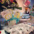 Samara Felippo fez festinha para celebrar aniversário das filhas