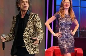 Luciana Gimenez rebate fama de pé-frio de Mick Jagger em Copa: 'Não é azarado'