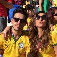 Famosos marcam presença na abertura da Copa do Mundo em São Paulo (12 de junho de 2014)