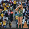 Claudia Leitte cantou com Pitbull e Jennifer Lopez a música da Copa do Mundo