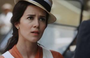 'Lado a Lado': ciúme afasta ainda mais Laura (Estiano) e Edgar (Thiago Fragoso)