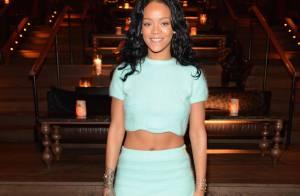 Rihanna põe foto de jogador no twitter e mostra preferência pela Seleção Ganesa