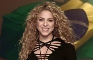 Shakira torce para a Colômbia após eliminação da Espanha na Copa do Mundo