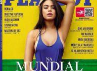Patrícia Jordane, vetada por Neymar no Brasil, é capa da 'Playboy' na Polônia