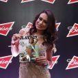Alheia à decisão judicial, Patrícia Jordane tem viajado bastante fazendo a divulgação da revista por todo país