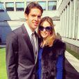 Kaká e Carol Celico teriam enfrentado uma crise no casamento, o que foi negado pela assessoria de imprensa da blogueira