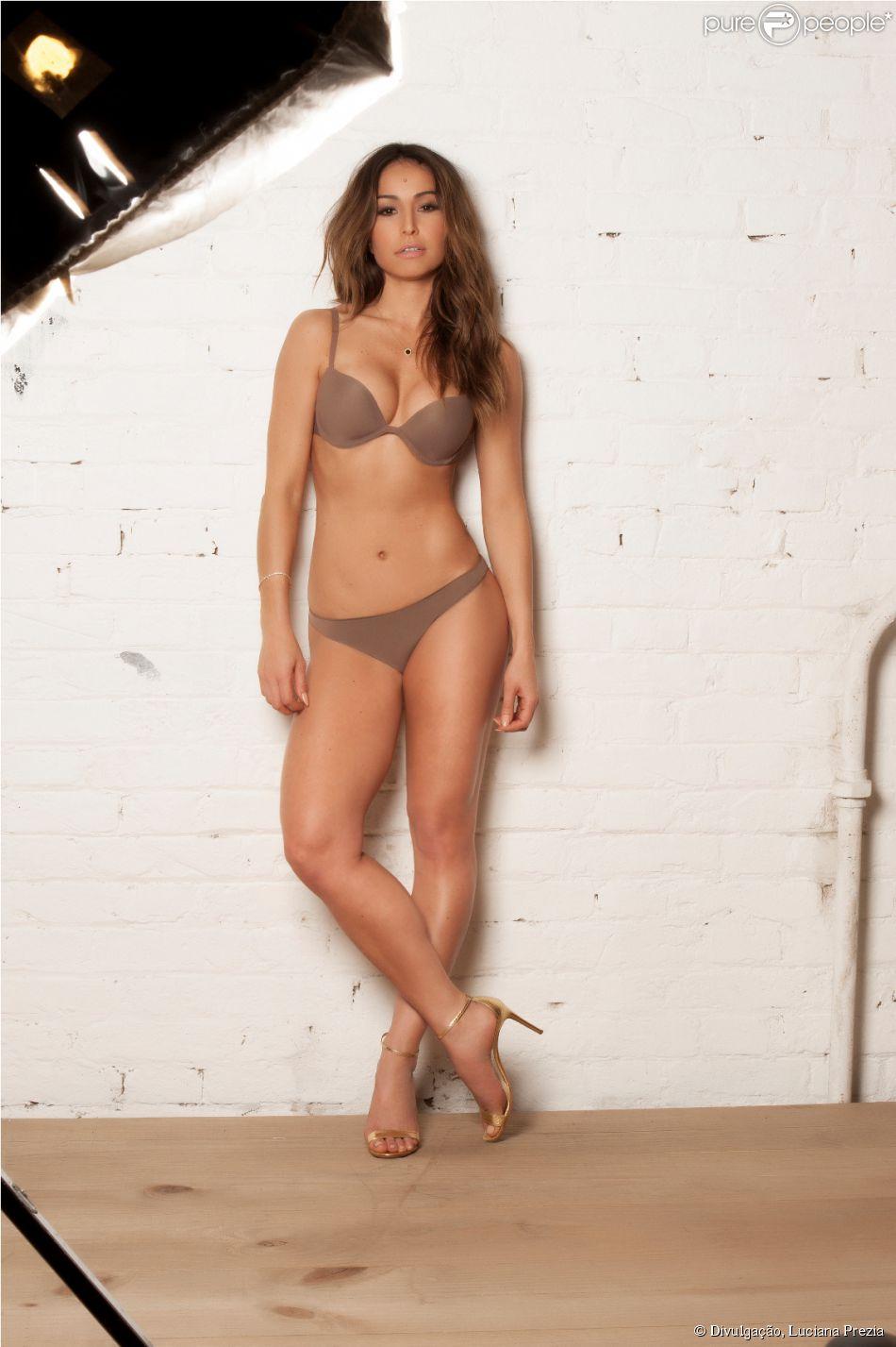 a9bdbdfb2 Sabrina Sato posou de calcinha e sutiã para a marca de lingerie Marcyn. 6  fotos