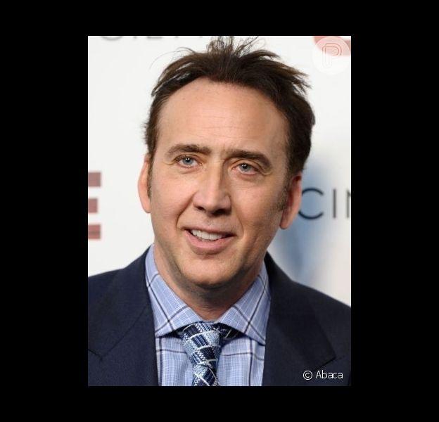 Nicolas Cage ganhou seu primeiro neto, no dia 1 de julho de 2014
