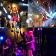 A ruiva da Move Over também cantou com Ivete Sangalo neste domingo, no Rio