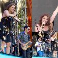 A banda Bicho de Pé cantou no show de Ivete Sangalo neste domingo, 6 de julho de 2014, na Marina da Glória, no Rio