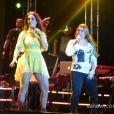 Preta Gil também cantou com Ivete Sangalo