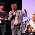 Caetano Veloso canta em show do filho Moreno Veloso, no Rio de Janeiro