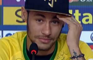 Neymar chora ao falar de lesão e perdoa Zúñiga em telefonema: 'Sem rancor'