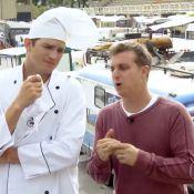 'Caldeirão do Huck': Ashton Kutcher sofre 'bullying gastronômico' com argentinos