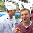 'Ele vai experimentar agora churrasco com tétano', se diverte Luciano Huck