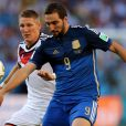 6ce1eed9bc764 Alemanha e Argentina disputaram a final da Copa do Mundo na tarde deste  domingo