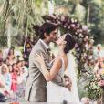 Isis Valverde e André Resende se casaram neste domingo, 10 de junho de 2018, no Rio de Janeiro