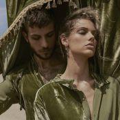 Chay Suede e Laura Neiva são estrelas de ensaio de moda genderless. Veja fotos!