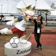 A jornalista Samyra Ponce é enviada da Fox Sports para Sochi, onde a seleção brasileira está concentrada