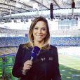 Taynah Espinoza é apresentadora do Esporte Interativo e vai apresentar um programa diário sobre a Copa da Rússia