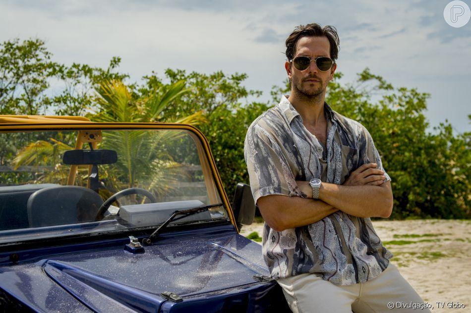 Remy (Vladimir Brichta) é forçado por Laureta (Adriana Esteves) a trabalhar como traficante na novela 'Segundo Sol'