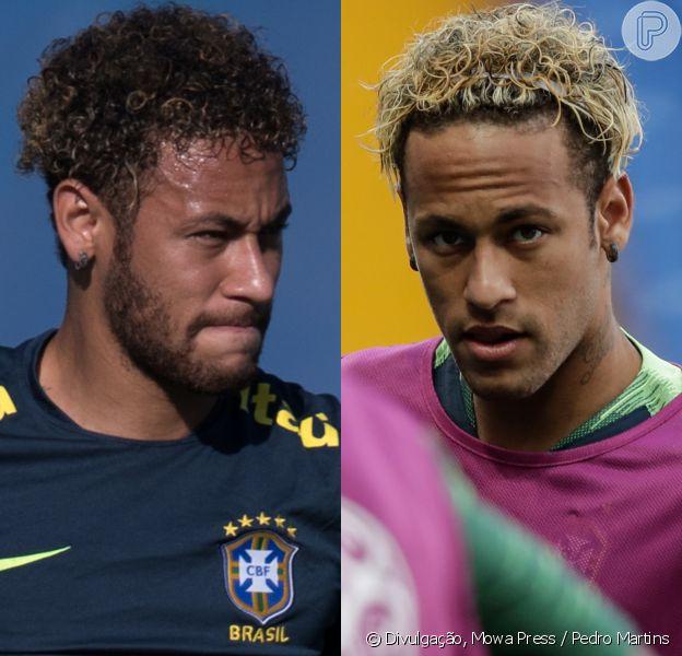 Neymar muda cabelo antes de jogo pela seleção do Brasil na Copa do Mundo da Rússia