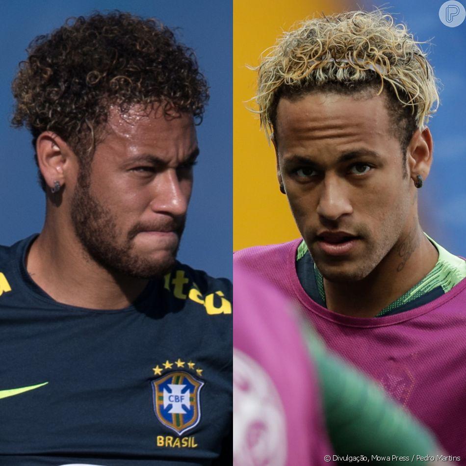 07077e86a8 Neymar muda cabelo antes de jogo pela seleção do Brasil na Copa do Mundo da  Rússia